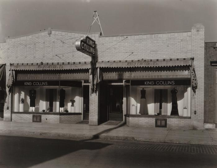 White Rabbit Lounge Building 1936 From King Collins Company