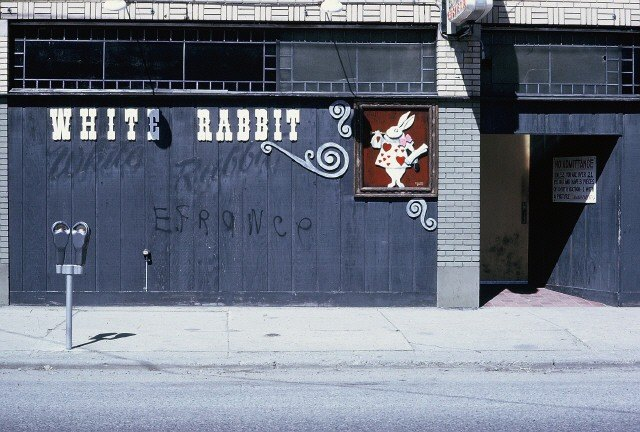 White Rabbit Lounge On Wealthy Street Across From The Theater